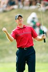2008 Ryder Cup - Jim Furyk celebrates winning point Canvas