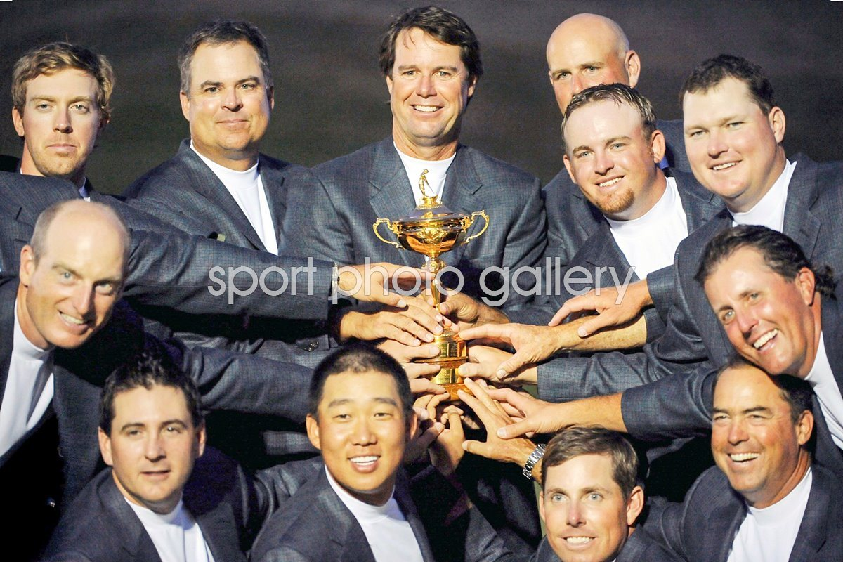 2008 Ryder Cup winners - USA