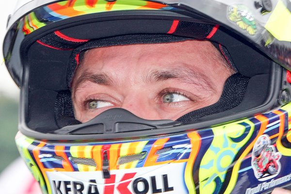 Rossi gets ready for action in Japan 2008