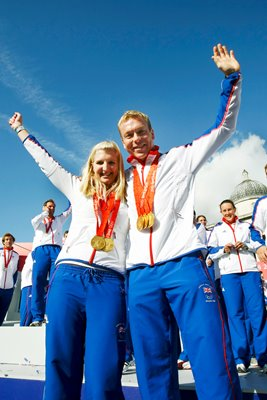 Olympic Heroes Hoy and Adlington