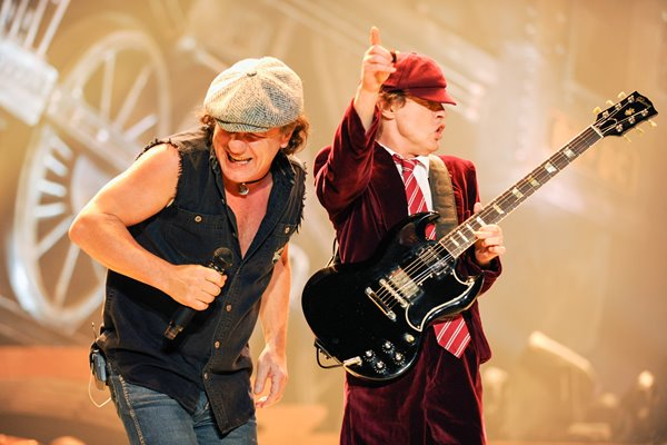 "AC/DC ""Black Ice"" Tour Opener"