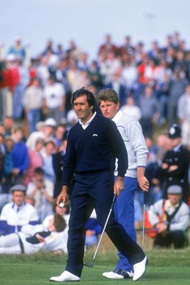 Seve Ballesteros & Nick Price British Open Lytham 1988