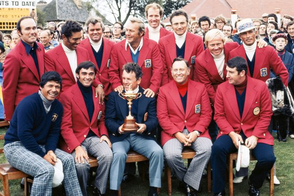 USA Ryder Cup Team Muirfield Scotland 1973