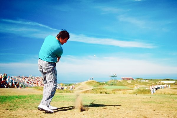 Seve at the Postage Stamp Troon