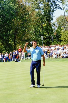 Seve Ballesteros Winning Point Ryder Cup 1987