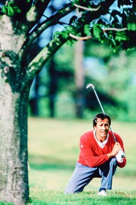 Seve Ballesteros in trouble Irish Open