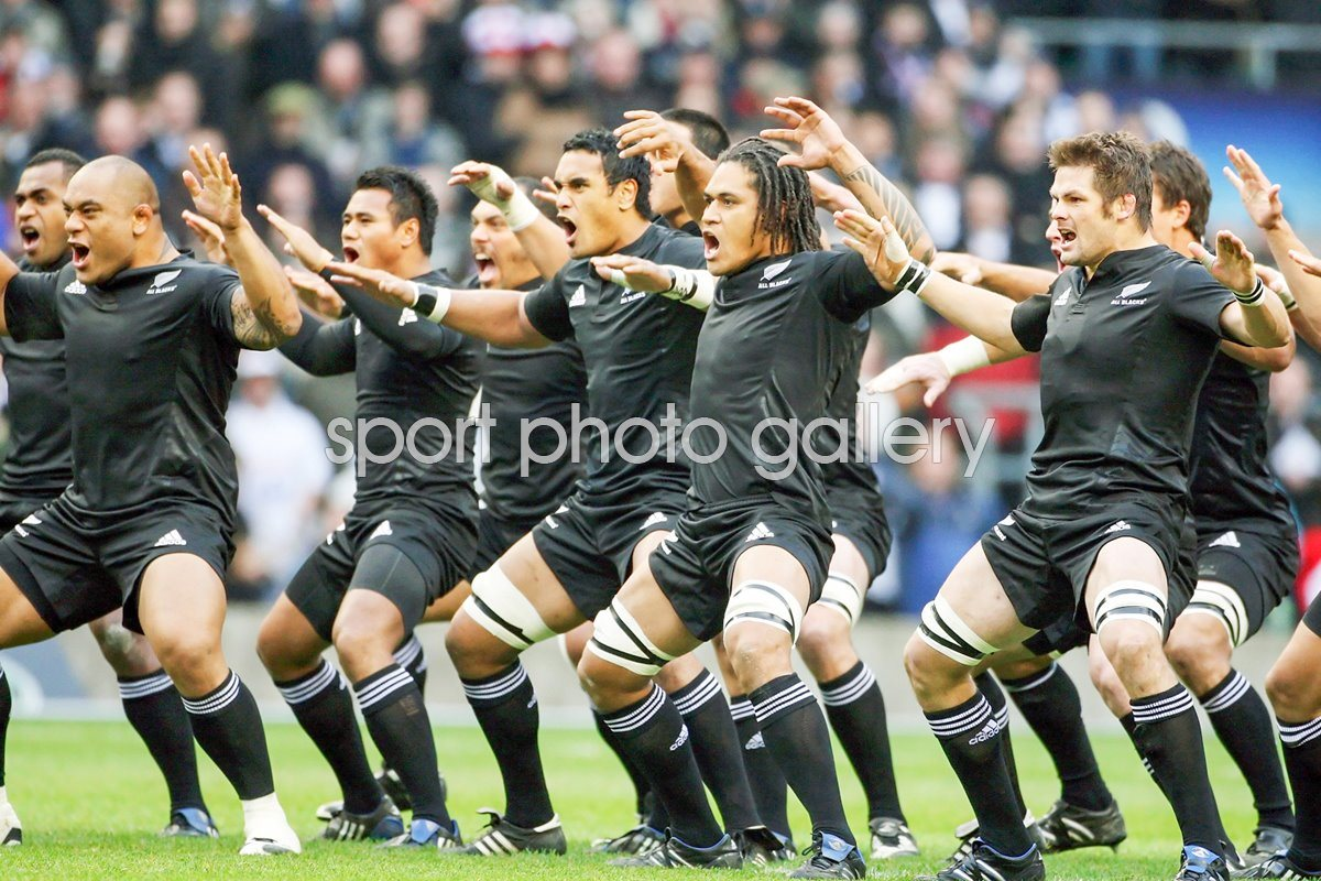 All Blacks Haka Twickenham 2008