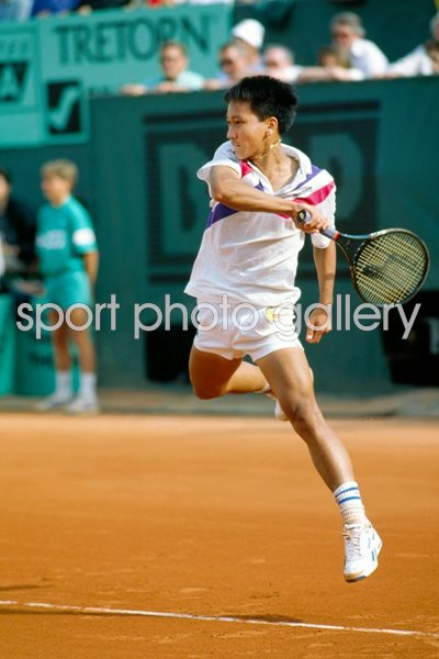 French Open Photo Tennis Posters Michael Chang