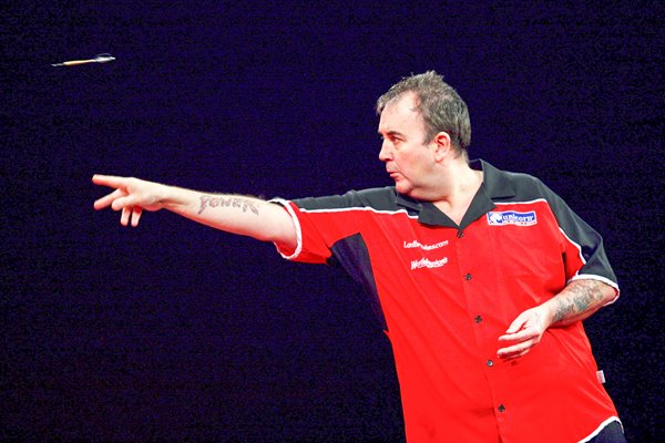 "Phil ""The Power"" Taylor action 2009"