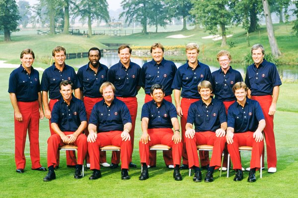 USA Team 1985 Ryder Cup Belfry