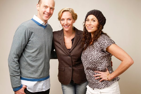 "Anthony Edwards, Uma Thurman and Minnie Driver: ""Motherhood"""