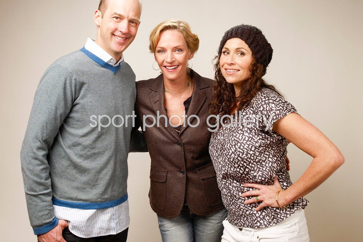 Anthony Edwards, Uma Thurman and Minnie Driver: