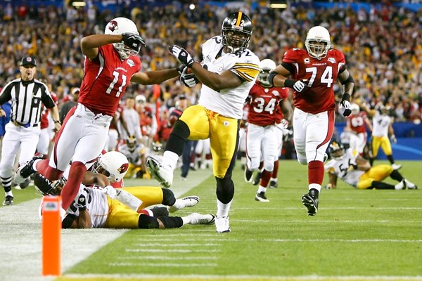 2009 James Harrison record Super Bowl touchdown