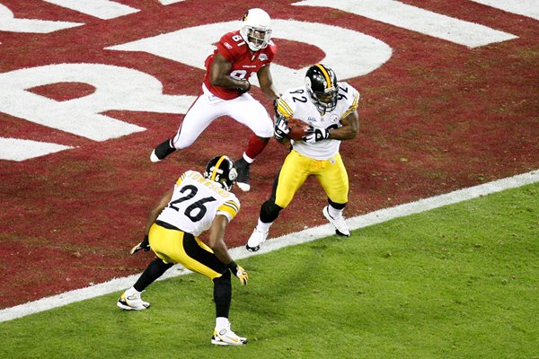 2009 James Harrison interception Super Bowl XLIII