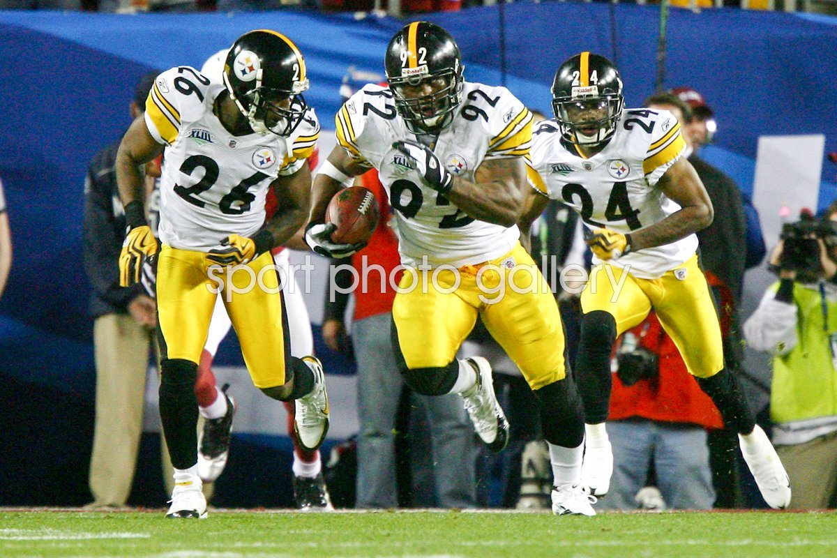 2009 James Harrison 100+ yard score Super Bowl XLIII