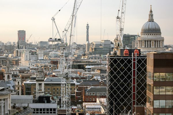 View Of London of the 21 century