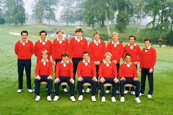 European Team 1985 Ryder Cup Belfry