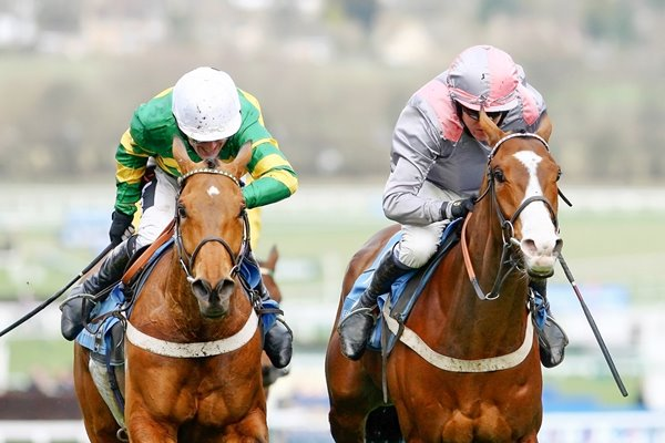 Barry Geraghty and Tony McCoy battle Champion Hurdle 2009