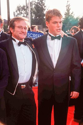 Robin Williams and Matt Damon