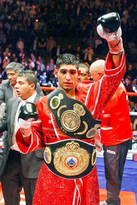 Amir Khan after Barrera victory