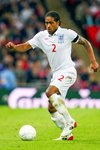 Glen Johnson in action for England Prints