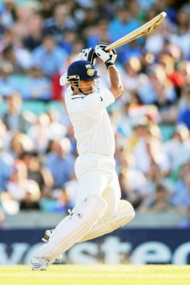Sachin Tendulkar Drives Oval 2011