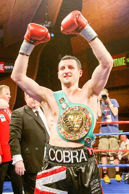 Carl Froch with WBC belt 2009
