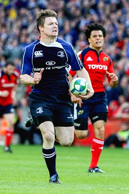 Brian O'Driscoll interception try for Leinster