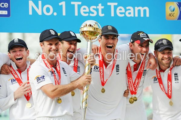 England World No Test Cricket Team 2011