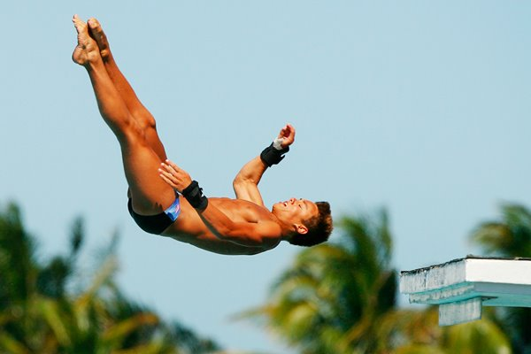 Tom Daley Platform action 2009