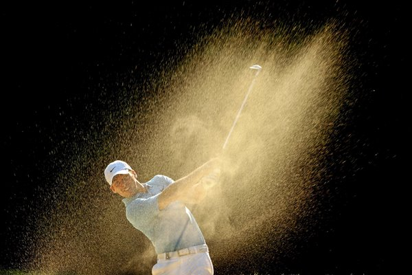 Paul Casey Sand Blast PGA Wentworth 2009