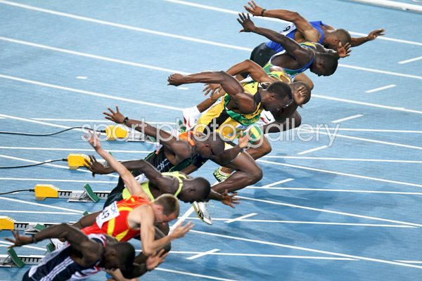 Usain Bolt 100m World Athletics 2011