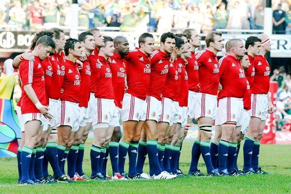 British & Irish Lions 1st Test v South Africa Durban 2009