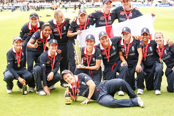Women's T20 World Champions - England 2009