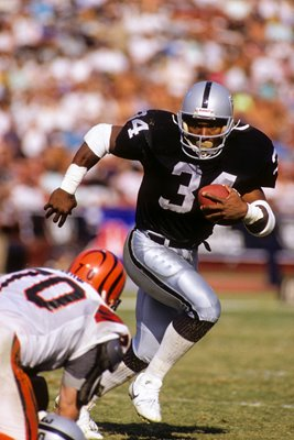 Bo Jackson Los Angeles Raiders v Bengals 1989