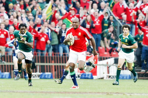 Ugo Monye British & Irish Lions scores 3rd Test v South Africa 2009