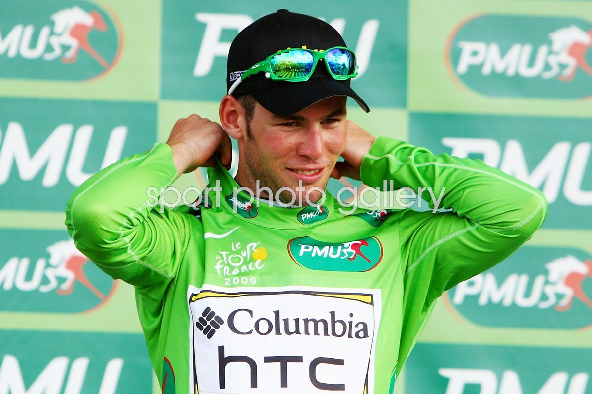 Mark Cavendish in green Stage 3 - 2009