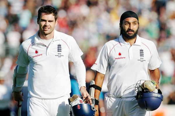 Anderson and Panesar - Cardiff Heroes - Ashes 2009