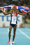 Mo Farah Great Britain silver 10,000m  Prints