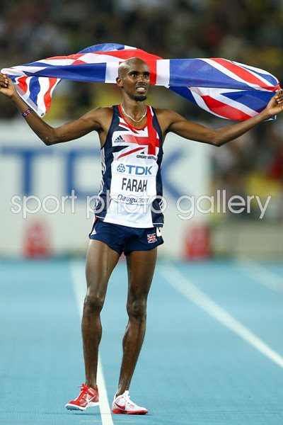 Mo Farah Great Britain silver 10,000m