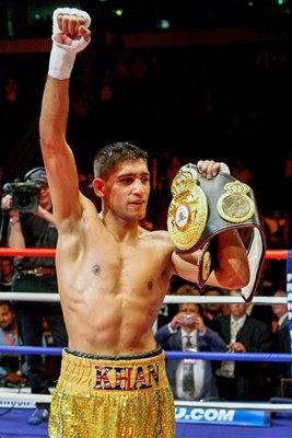 Amir Khan WBA Light-Welterweight Champion
