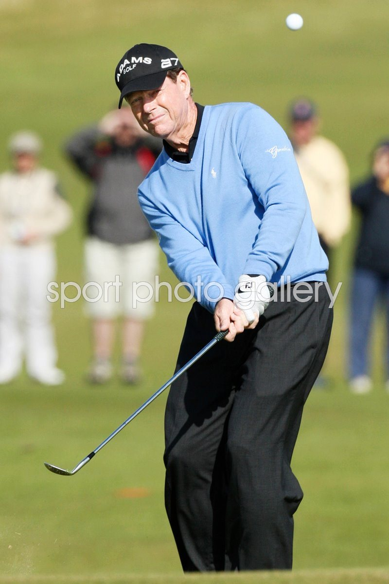 Tom Watson 2009 Open Final Round action