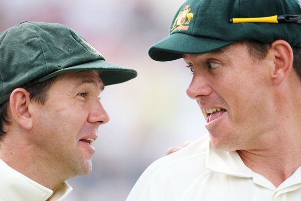 Ricky Ponting & Marcus North - Headingley - Ashes 2009