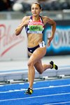 Jessica Ennis 200m Heptathlon Berlin 2009 Mounts