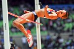 Jessica Ennis High Jump Heptathlon 2011 Prints