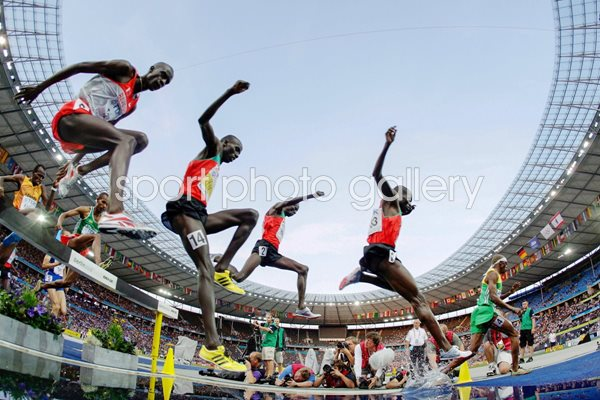 Kenya dominates 3000m steeplechase in Berlin