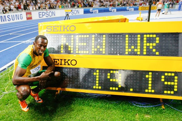 Usain Bolt 200m World Record - 19.19 seconds