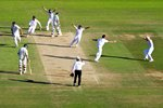 Moment of Victory - Ashes Regained Oval 2009 Prints
