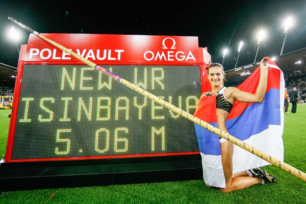 Yelena Isinbaeva Pole Vault World Record 2009