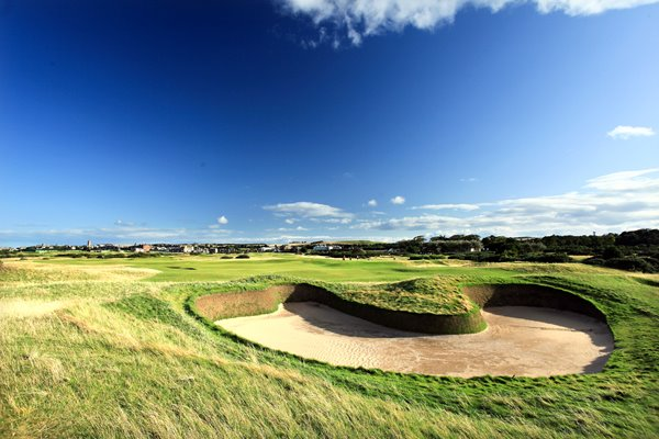 Hell Bunker 14th hole - Old Course, St Andrews